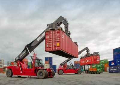 Griepe Container Reachstacker