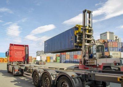 Griepe Container transportation