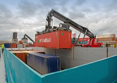Griepe Container Verladung